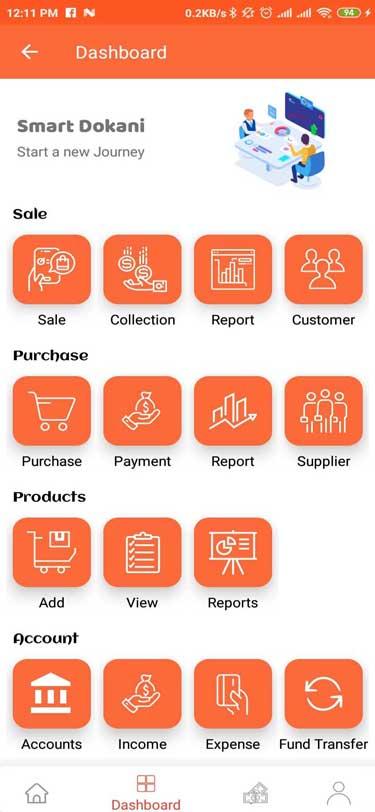 Retail Shop Management App